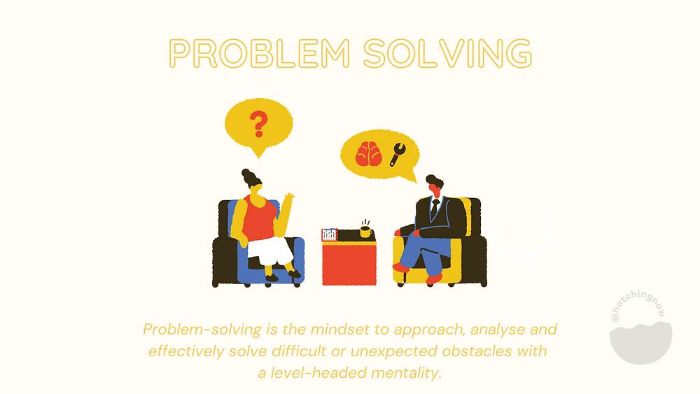 Problem solving soft skills