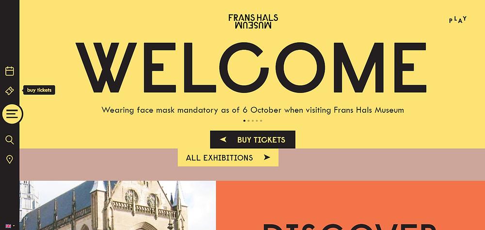 Frans Hals Museum website