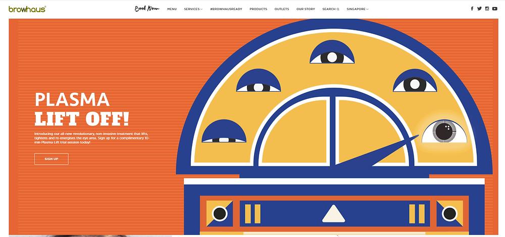 Browhaus website