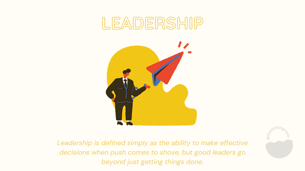 Leadership soft skills