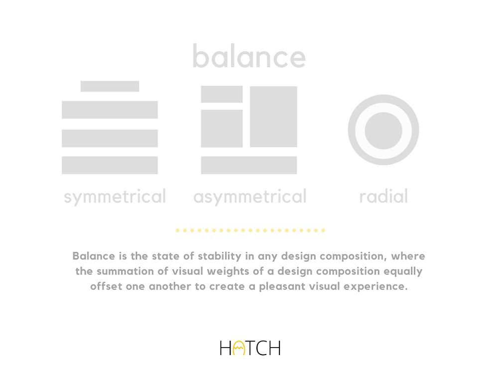 balance design principle
