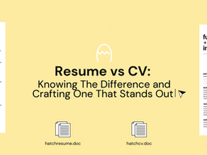 Future of Work | Resume vs CV: The Difference and Crafting One That Stands Out