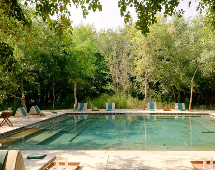 Step Well Swimming Pool, Aman-i-Khas