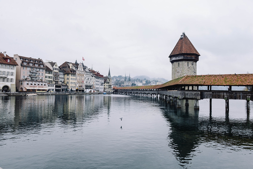 Lucerne Lake and Town