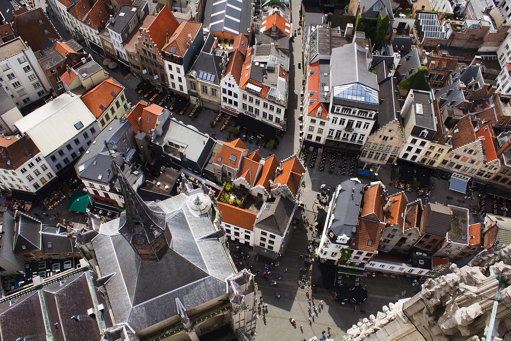 Antwerp City Old Town