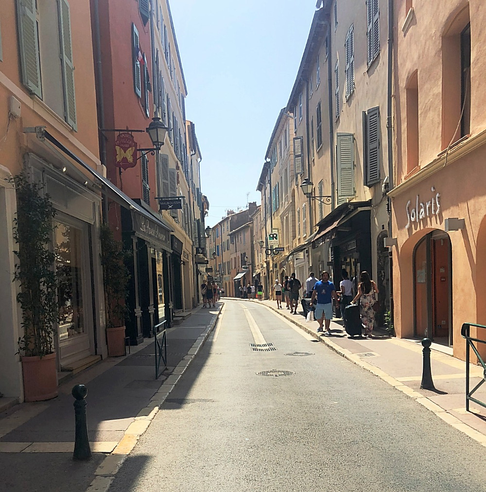 Streets of St. Tropez