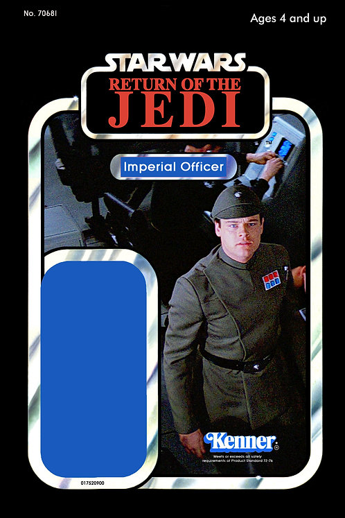 Imperial Star Destoryer Officer - ROTJ 77a Back Custom