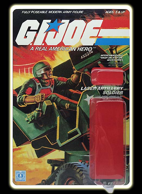 Resto Kit - G.I. Joe - Grand Slam (HAL) - Straight Arm