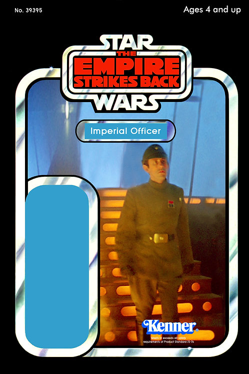 Imperial Officer - Cloud City Freezing Chamber - ESB 48a Back Custom