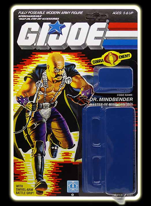 Resto Kit - G.I. Joe - Dr. Mindbender