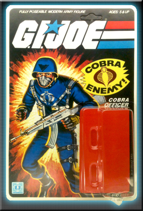 Resto Kit - G.I. Joe - Cobra Officer - Straight Arm