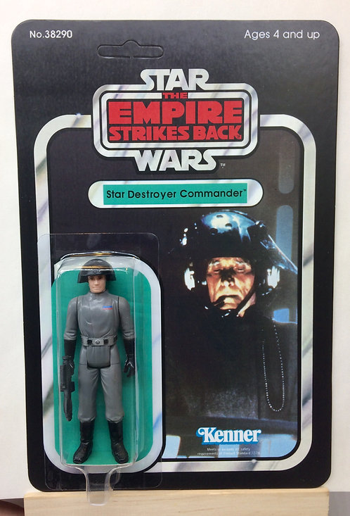Star Destroyer Commander - Empire - 31A Back