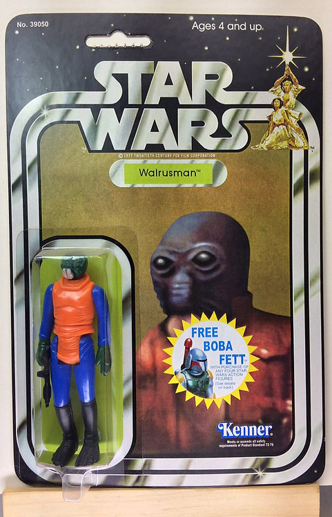 Walrusman - STAR WARS - 20C Back