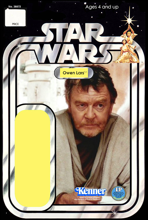 Owen Lars (Version 4) - 21a Back Star Wars Custom Kit