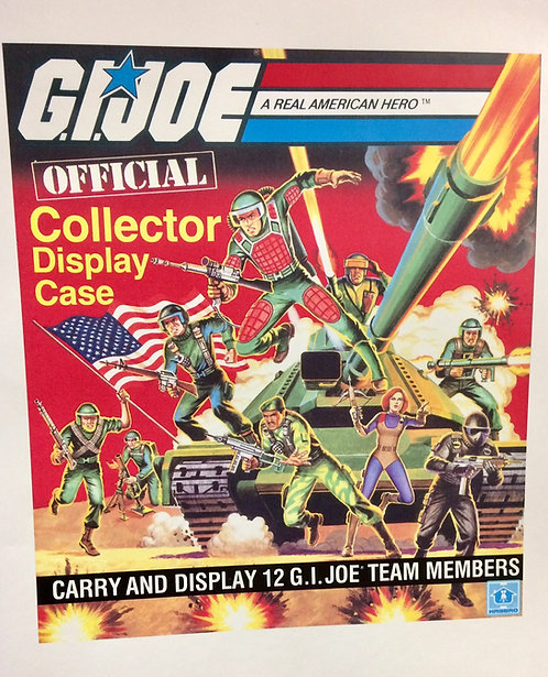 G.I. Joe Carrying Case Replacement Stickers