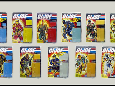 G. I . Joe Series 3 Master Set