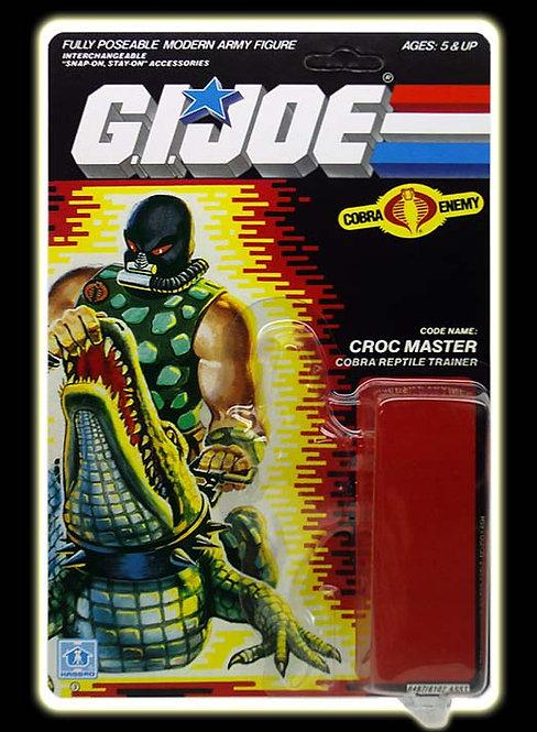 Resto Kit - G.I. Joe - Croc Master