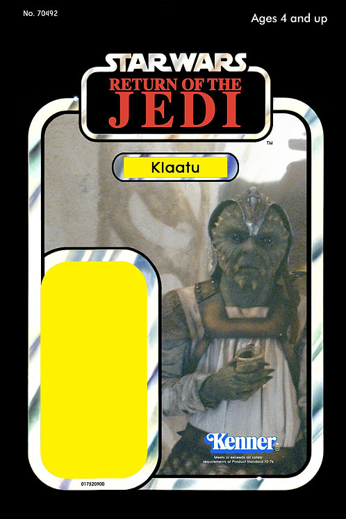 Klaatu Skiff Guard ROTJ 77a Back Custom