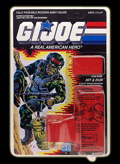 Resto Kit - G.I. Joe - Hit & Run