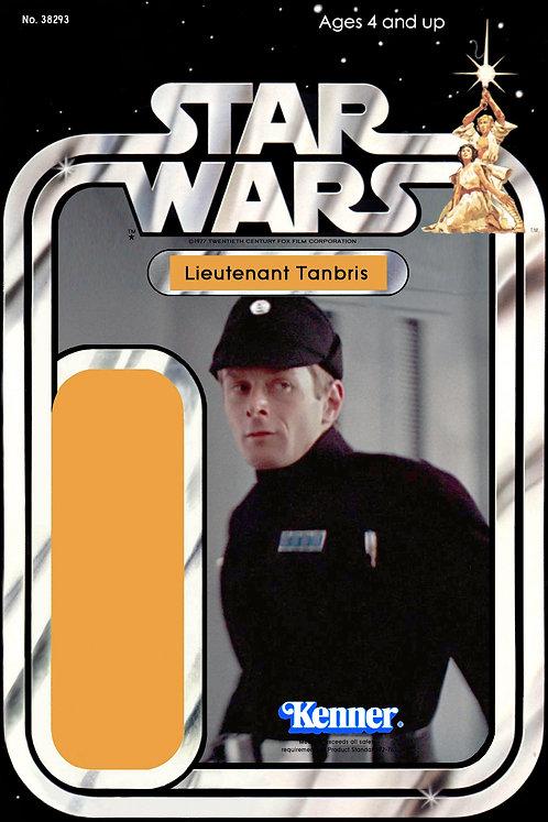 Lieutenant Tanbris - 21a Back Star Wars Custom Kit