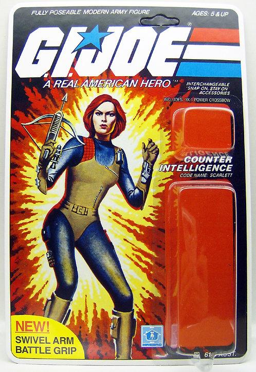 Resto Kit - G.I. Joe - Scarlett - Swivel Arm
