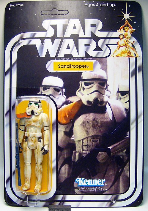 Sandtrooper (Custom) - SW 21 Back