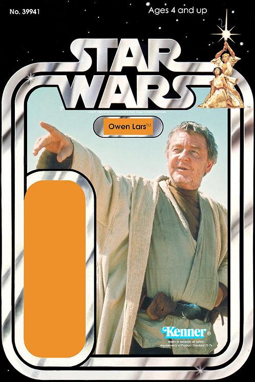 Owen Lars (Version 2) - 21a Back Star Wars Custom Kit