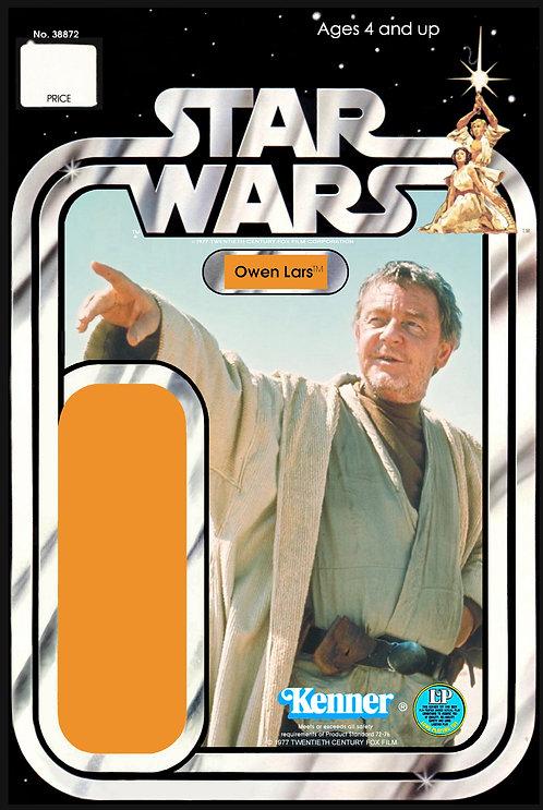 Owen Lars - 12a Back Star Wars Custom Kit