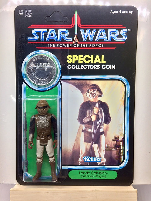 Lando Calrissian - Skiff Guard POTF 92 Back