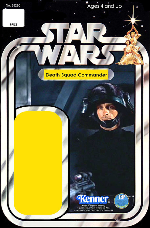 Death Squad Commander 21a Back Star Wars Custom