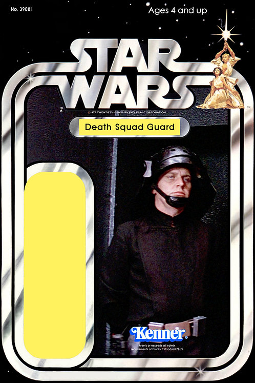 Death Squad Guard- 21a Back Star Wars Custom