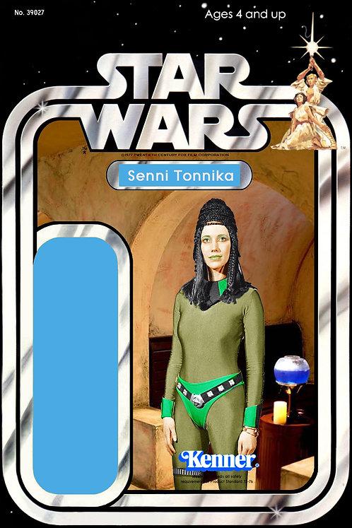 Senni Tonikka- 21a Back Star Wars Custom