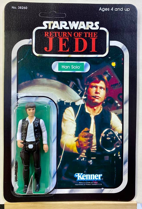 Han Solo Gunner Image - ROTJ 77 Back (Custom)