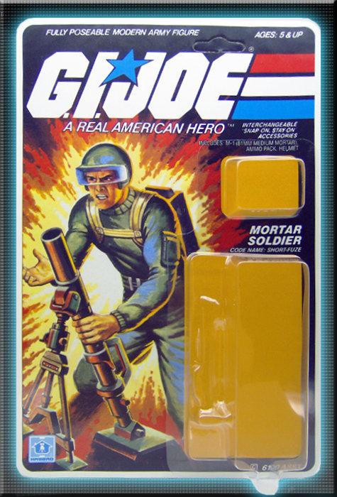 Resto Kit - G.I. Joe - Short Fuze - Straight Arm