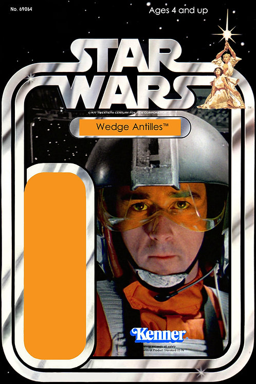 Wedge Antilles 21a Back Star Wars Custom