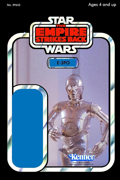 E-3PO Protocol Droid - ESB 48a Back Custom