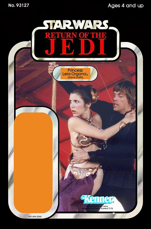 Princess Leia Slave Outfit ROTJ 77a Back Custom
