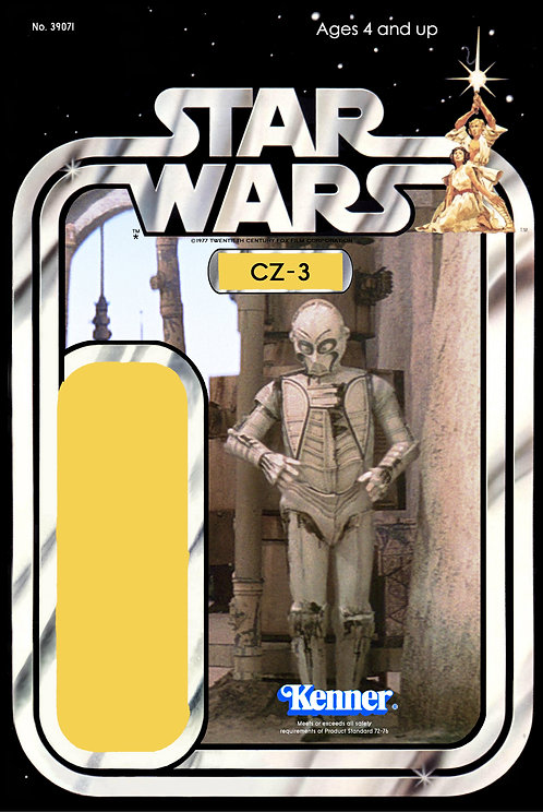 CZ-3 21a Back Star Wars Custom