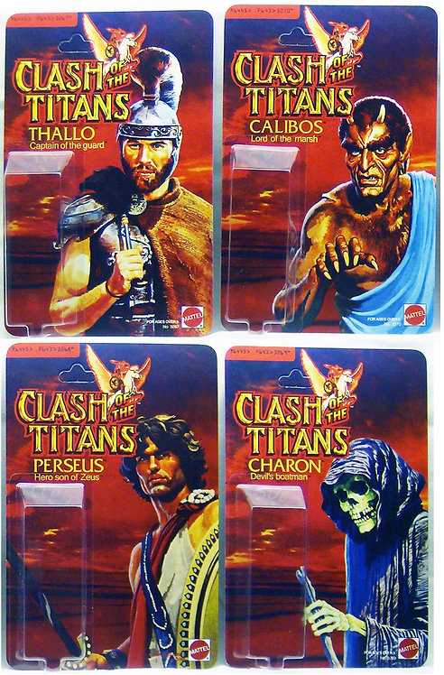 Clash of the Titans - Action Figure Resto Kits Master Set