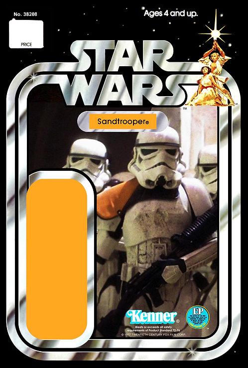 Sandtrooper No.2 - 12a Back Star Wars Custom