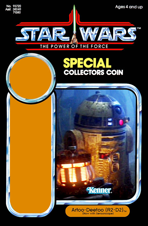 Artoo Deetoo R2-D2 (Dagobah) POTF 92 Back Custom