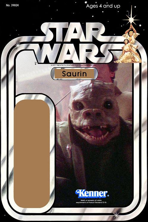 Saurin 21a Back Star Wars Custom