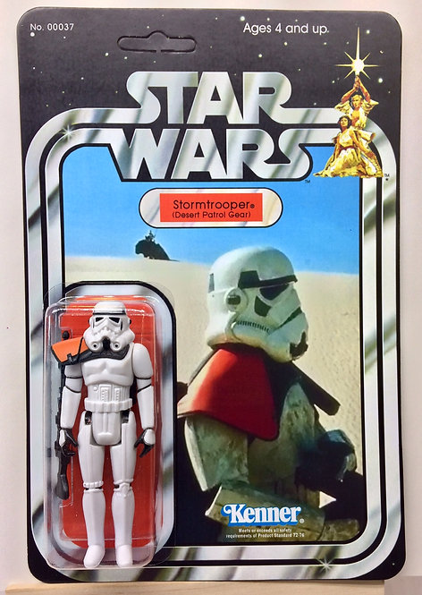 Sandtrooper 2 Desert Scene (Custom) - SW 21 Back