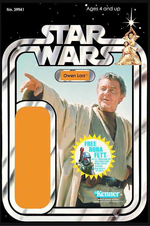 Owen Lars (Version 3) - 20c Back Star Wars Custom Kit