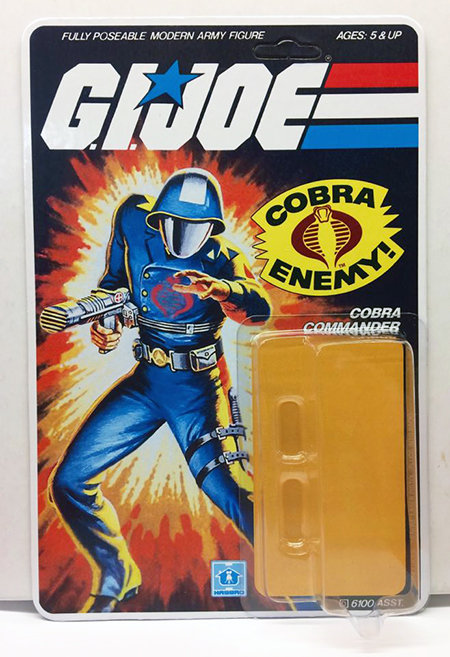 Resto Kit - G.I. Joe - Cobra Commander - Straight Arm