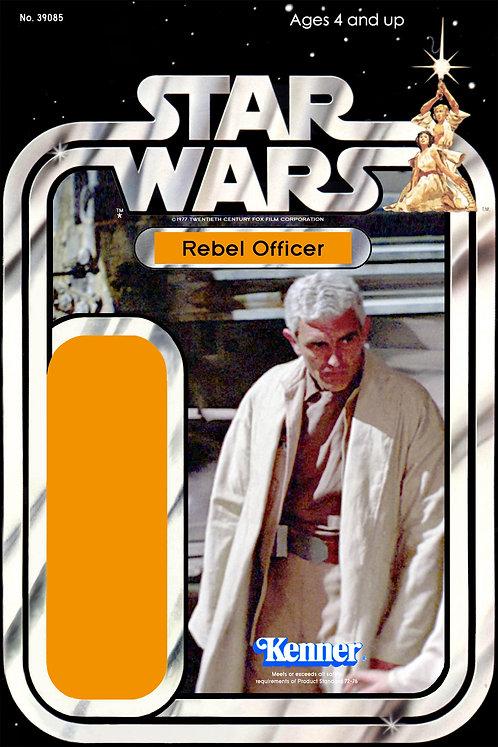 Rebel Officer (Yavin 4) - 21a Back Star Wars Custom