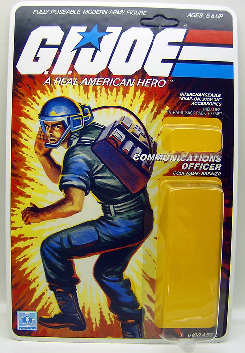 Resto Kit - G.I. Joe - Breaker - Straight Arm