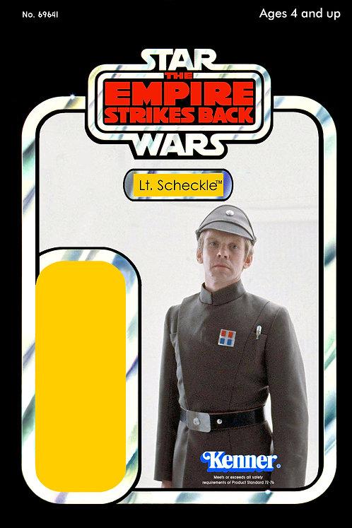 Lt. Sheckle No.2 (Yellow) - ESB 48a Back Custom