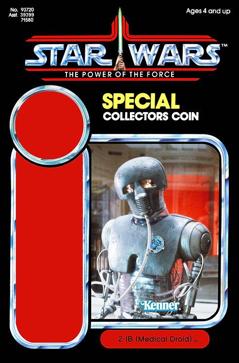 2-1B Medical Droid POTF Custom SW Kit Coin INC