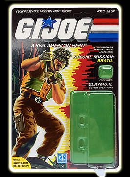 Resto Kit - G.I. Joe - Claymore